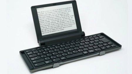 В Японии выпустили цифровую пишущую машинку с экраном E Ink