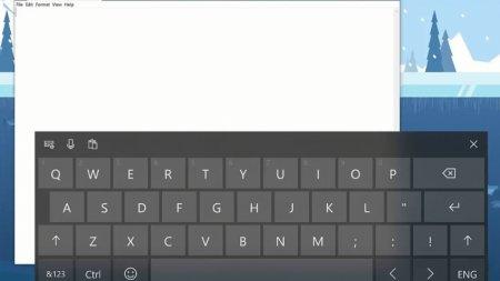 На Windows 10 появилась экранная клавиатура SwiftKey