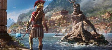 Схватка с акулами в новом геймплее Assassin's Creed Odyssey