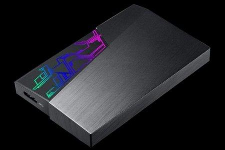 ASUS FX External Hard Drive — внешний HDD с LED-подсветкой