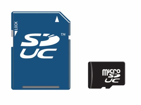Карты памяти SD достигнут ёмкости в 128 ТБ