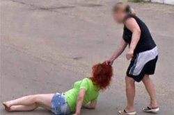 Россиянка протащила соперницу за волосы и попала на карты Google 2