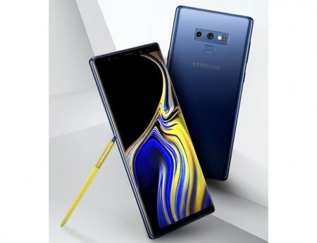Опубликованы пресс-рендеры и фото смартфона Samsung Galaxy Note 9