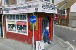 Посетитель секс-шопа с полным пакетом покупок попал на карты Google