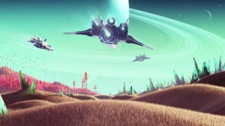 No Man's Sky - графику стартовой версии игры сравнили с обновлением NEXT
