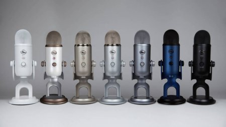 Logitech покупает Blue Microphones