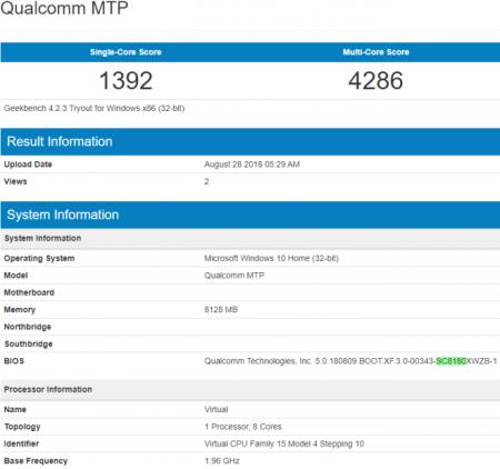 Опубликованы результаты тестов процессора Snapdragon 8180
