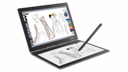 Lenovo Yoga Book C930: ноутбук-трансформер с E-Ink-экраном вместо клавиатуры