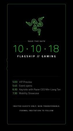 Названа дата анонса игрового смартфона Razer Phone 2