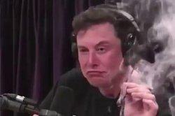 Довольный Маск с косяком разошелся на мемы