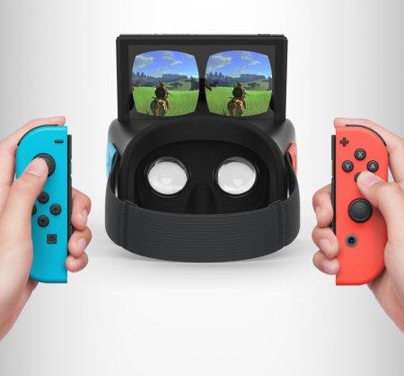 Nintendo активно экспериментирует с VR