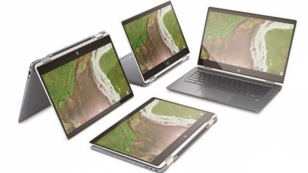HP Chromebook x360 14 — самый тонкий хромбук в мире