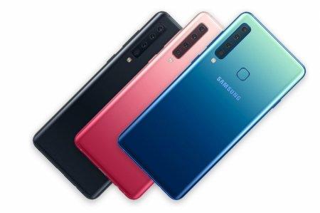 Представлен Samsung's Galaxy A9 — первый четырёхкамерный смартфон