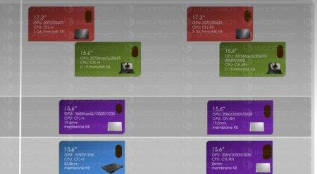 Первая информация о мобильных видеокартах Nvidia GeForce RTX