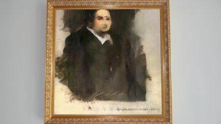 Картину, созданную искусственным интеллектом, продали на аукционе