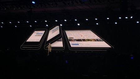 Samsung показала свой прототип смартфона с гибким экраном