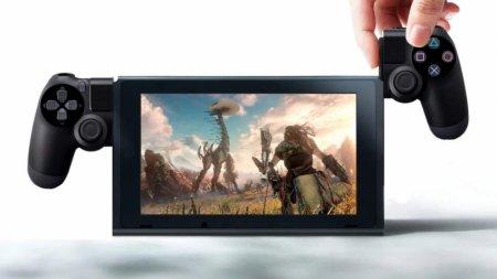 Sony запатентовала геймпад с сенсорным экраном
