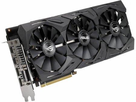 Видеокарта ASUS ROG Strix Radeon RX 590 появилась в продаже