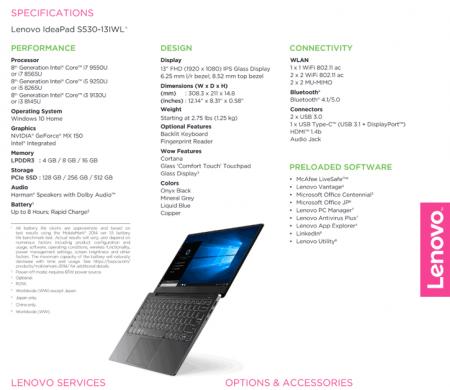 Lenovo рассекретила новые мобильные CPU Intel