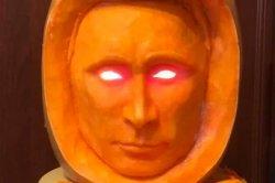 В сети перепугались тыквы с лицом Путина