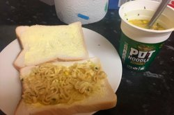 Бутерброд с дошираком посеял раздор в интернете