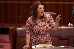 Выступающая против унижений политик оказалась унижена из-за «болтающейся» груди