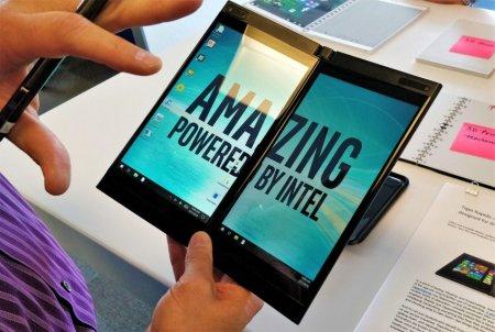 Слухи: двухэкранный лэптоп Intel может быть двумя Surface Go