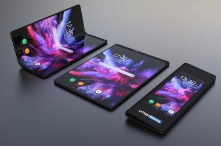 Складной смартфон Samsung могут показать вместе с Galaxy S10