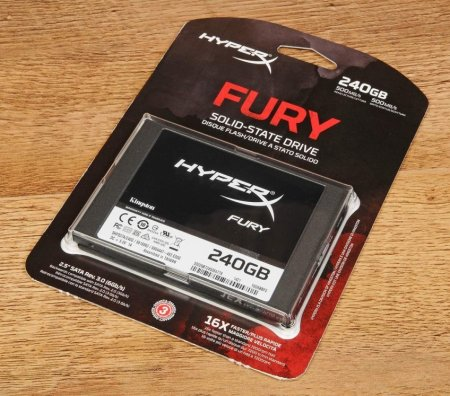 В «Ситилинк» появились SSD Kingston Fury 3D на 120 и 240 ГБ