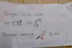 Пугающая записка от медсестры привела в восторг пользователей