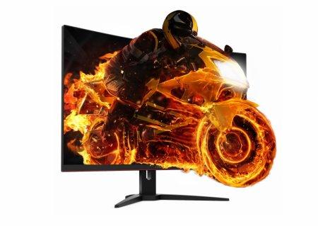 Представлен геймерский монитор AOC CQ32G1
