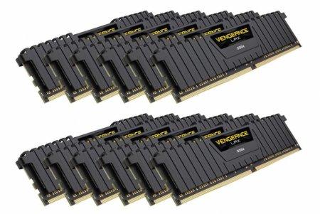 Объём набора памяти Corsair Vengeance LPX DDR4-4000 равен 192 ГБ