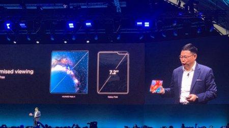 Huawei представила смартфон со складным экраном Mate X