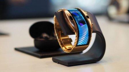 Анонсирован гибрид смартфона с гибким дисплеем и часов Nubia Alpha