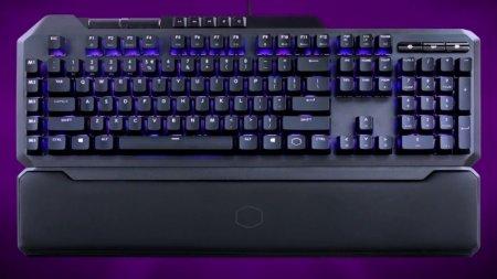 Начались продажи Cooler Master MK850 — клавиатуры с аналоговыми кнопками