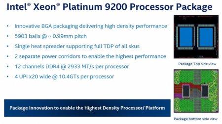 Intel показала 56-ядерный процессор