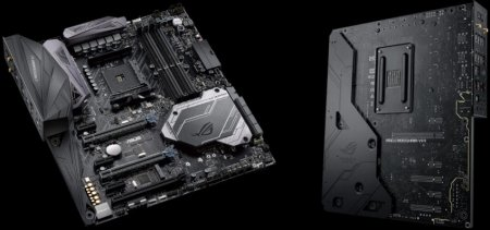 ASUS представила материнские платы на чипсете AMD X570