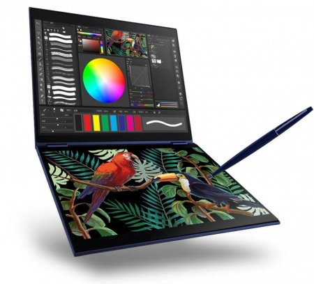 Microsoft готовит двухэкранный ноутбук на Windows Lite