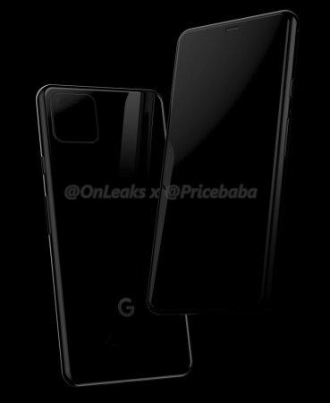 Google рассекретила дизайн Pixel 4