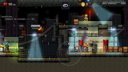 Gunslugs:Rogue Tactics GamePlay PC