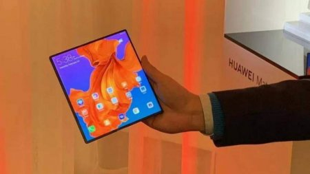 Названа цена складного смартфона Huawei Mate X 5G