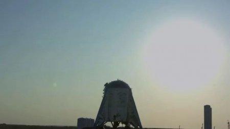 Прототип Starhopper Илона Маска взлетел-таки. С третьей попытки