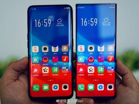 OPPO показала экран Waterfall для смартфонов будущего