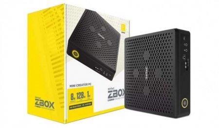 ZOTAC представила ZBOX Magnus E Mini Creator PC с дискретной графикой RTX