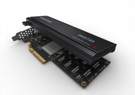 Samsung представила SSD PM1733 — скорость до 8 ГБ/сек, объём до 30 ТБ