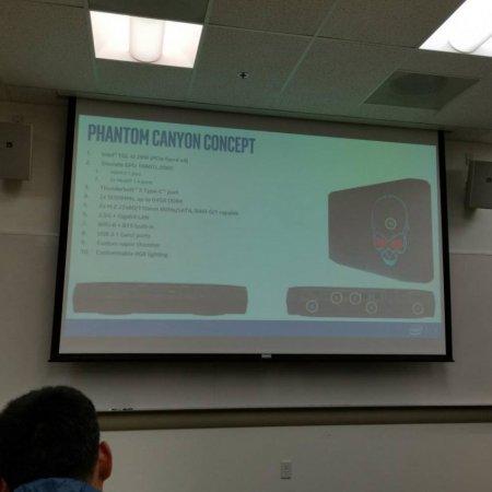 Intel готовит игровой PC NUC Phantom Canyon с дискретной графикой