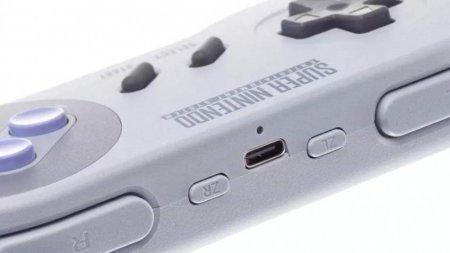 Доступны беспроводные контроллеры в стиле SNES для Nintendo Switch