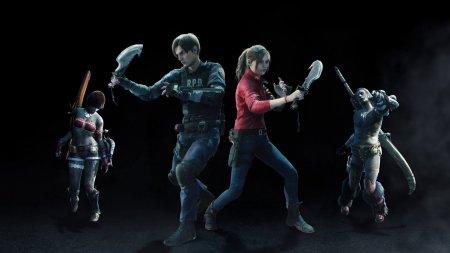 Леон Кеннеди, Клэр Редфилд и Мистер Икс в ноябре появятся в Monster Hunter World: Iceborne