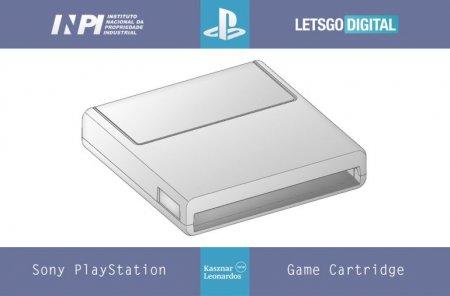 Sony запатентовала ещё один вид игрового картриджа для консолей