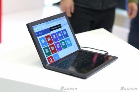 Опубликованы реальные фото Lenovo ThinkPad X1 — первого ноутбука с гибким экраном